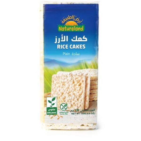 كعك الأرز سادة  (ارض الطبيعة)