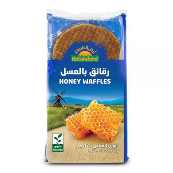 رقائق الوافل بالعسل من ارض الطبيعة
