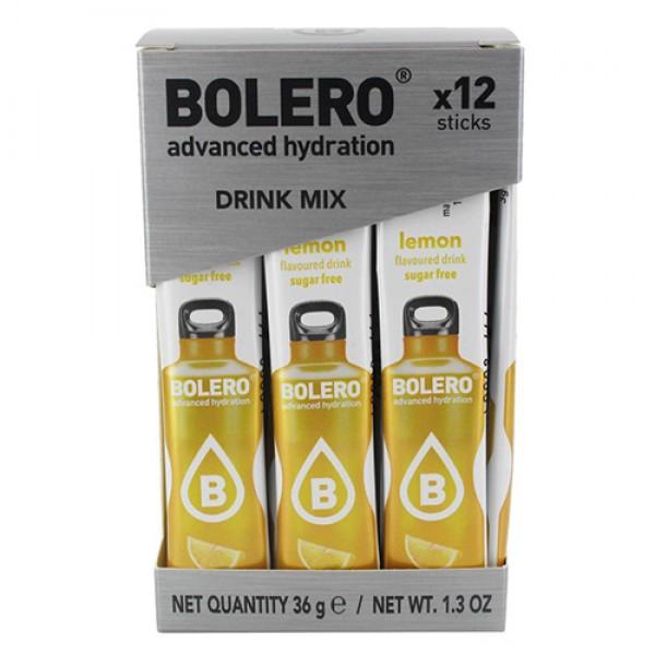 منكهات الماء بوليرو - نكهة الليمون الاصفر