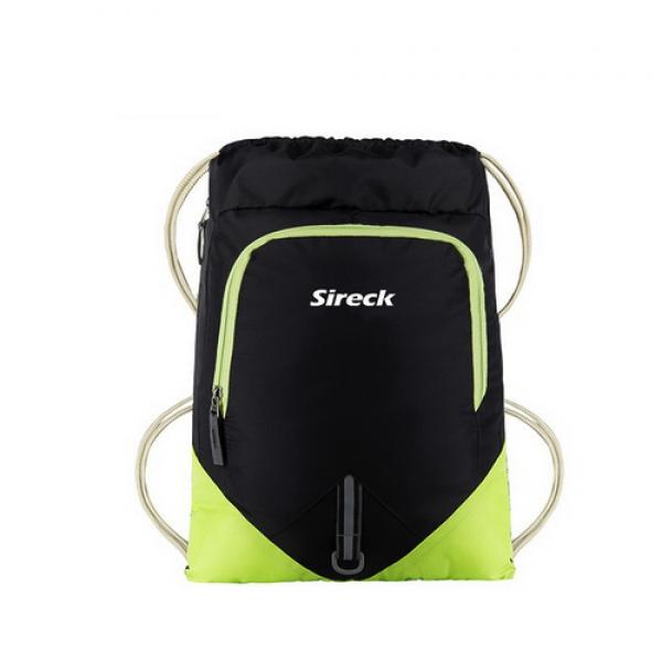 حقيبة ظهر رياضية - أسود وأخضر