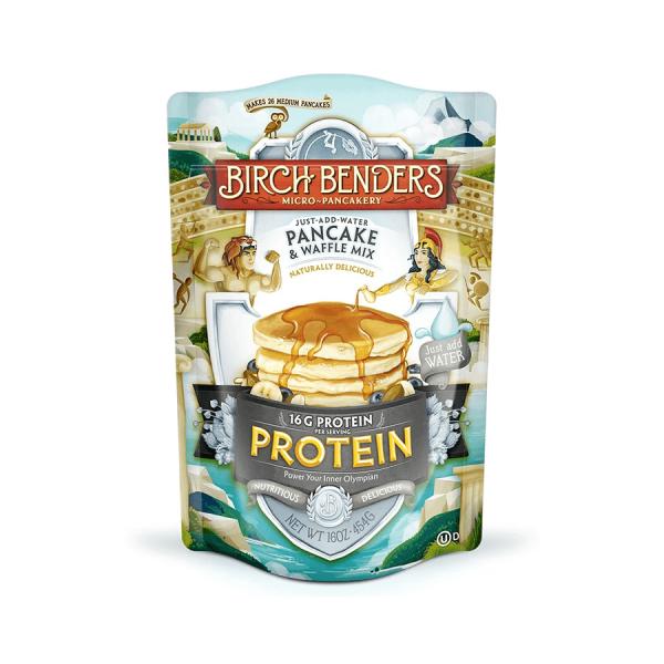 خليط البانكيك والوافل بروتين بريتش بيندرز