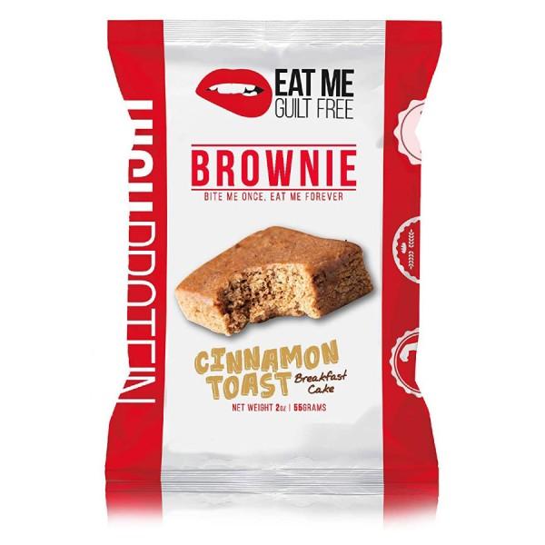 براوني بروتين من ايت مي نكهة السينامون