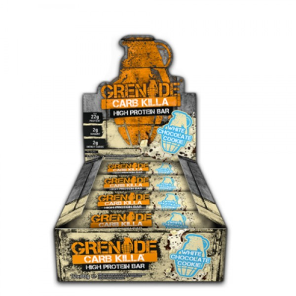 بروتين بار وايت شوكليت كوكي من قرنيد (حبة + حبة مجانا )