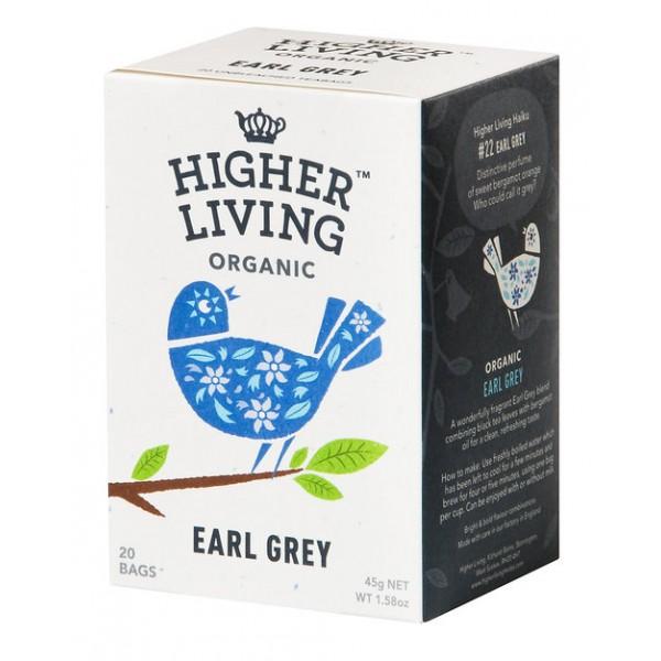 شاي إيرل جراي عضوي من هاير لفينق