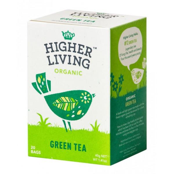 شاي أخضر عضوي من هاير لفينق