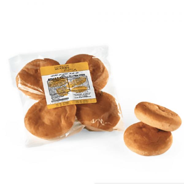 خبز برجر خالي من الجلوتين المخبز الحديث