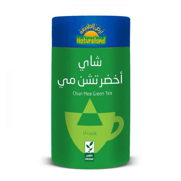 شاي أخضر تشن مي أرض الطبيعة
