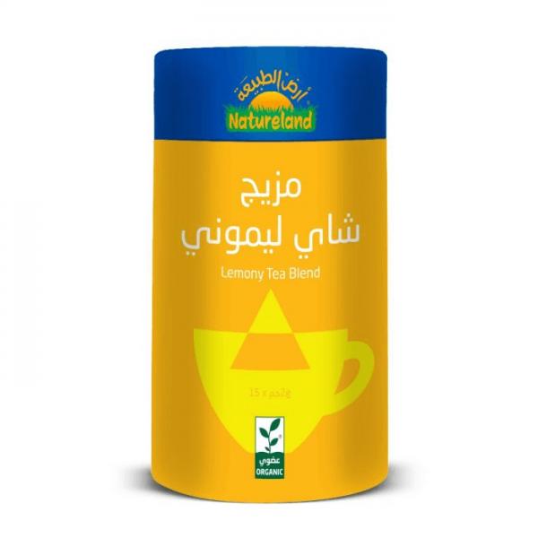 مزيج شاي ليموني أرض الطبيعة