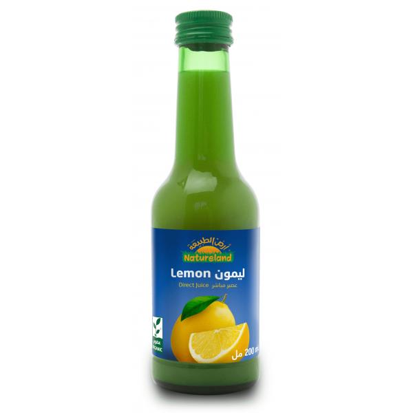 عصير ليمون أرض الطبيعة