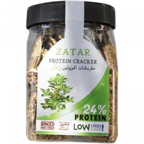 مقرمشات البروتين - زعتر