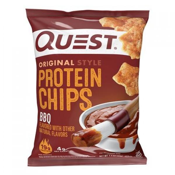 كويست بروتين شيبس بنكهة الباربكيو