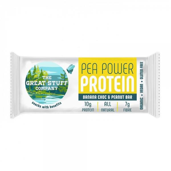 بروتين بار شوكولاته بالموز والفول السوداني - The Great Stuff Company