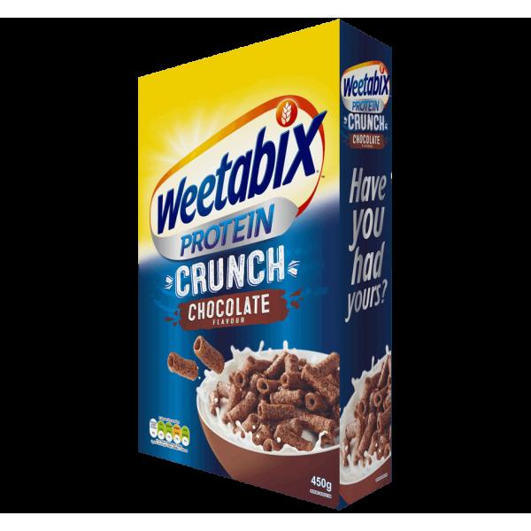 حبوب افطار ويتابكس بروتين كرانش بالشوكلاته