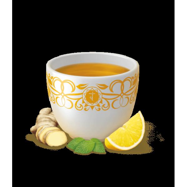 شاي الليمون بالزنجبيل من يوقا