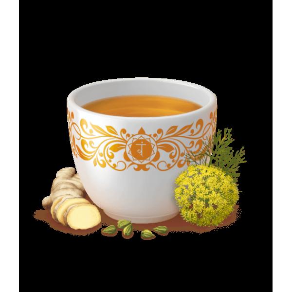 شاي راحة المعدة من يوقا