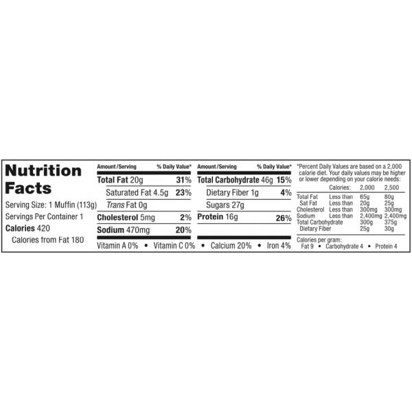 مافن بروتين بيرثدي كيك- بيك سيتي