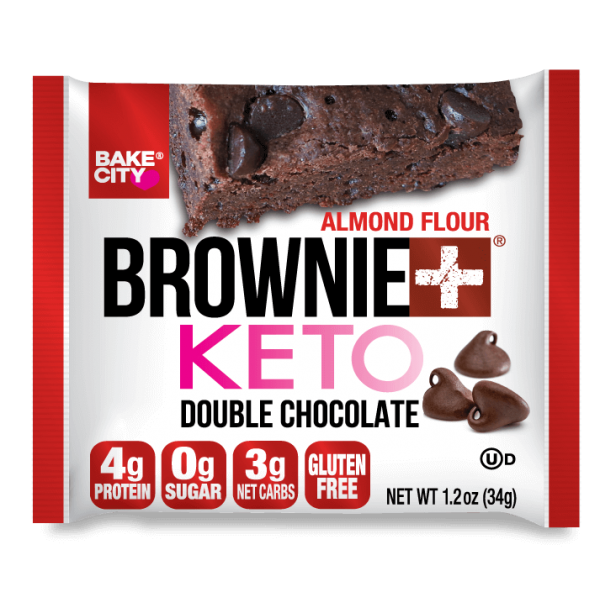 كيتو براوني دبل شوكولاته- بيك سيتي