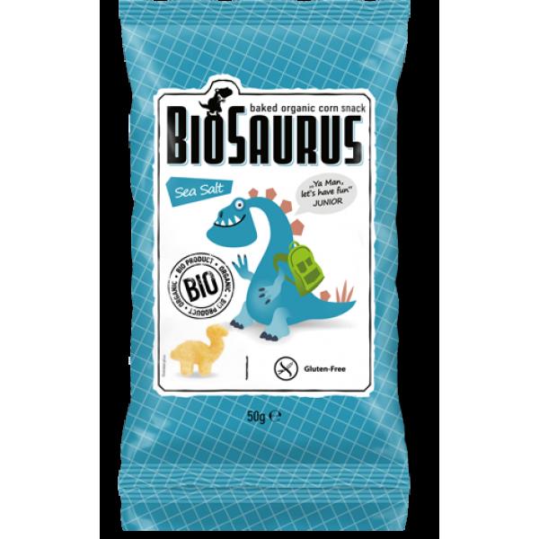 سناك الذرة العضوية المحمصة بالملح البحري بايوسورس