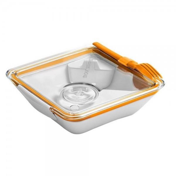 حافظة طعام  لون برتقالي بلاك بلوم
