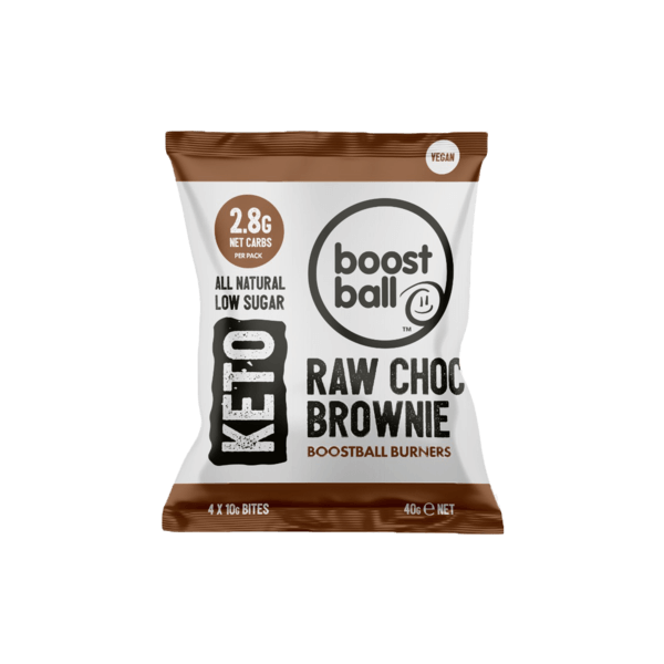كرات الشوكولاته براوني كيتو بوست بول