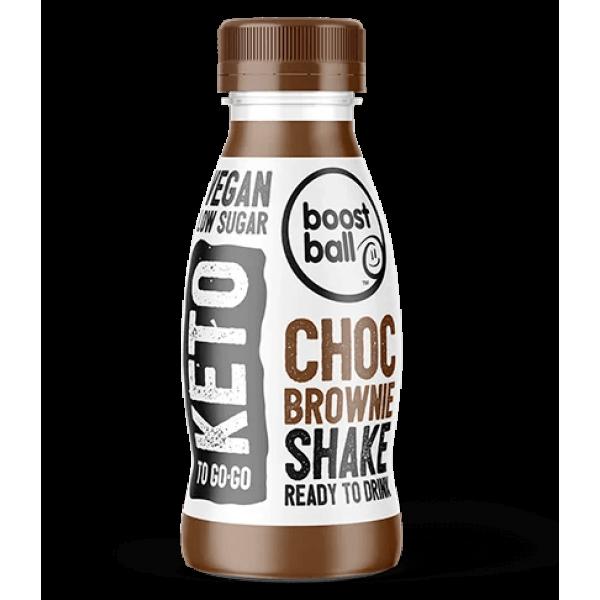 مشروب كيتو براوني بالشوكولاته بوست بول
