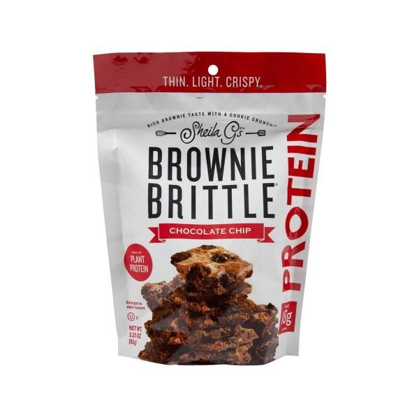 براوني بريتل برقائق الشوكولاته عالي البروتين
