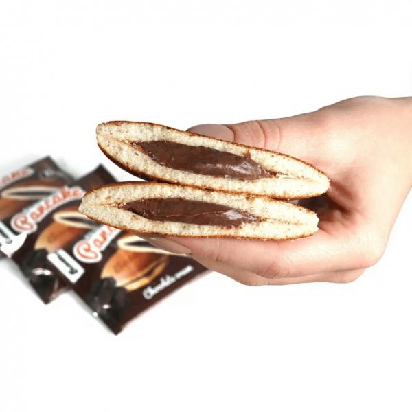 بان كيك الشوكولاته بومبار