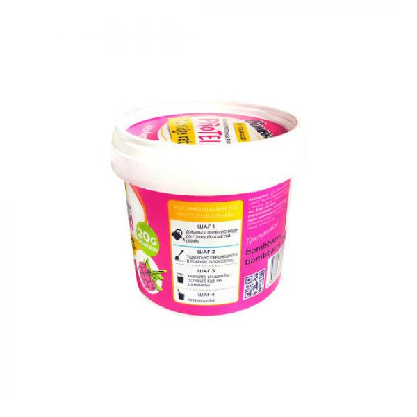 شوفان عالي البروتين نكهة التوت بومبار