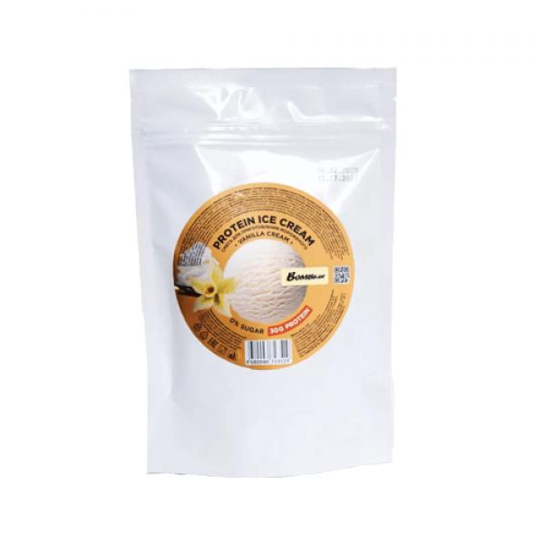 خليط آيس كريم عالي البروتين نكهة الفانيلا بومبار