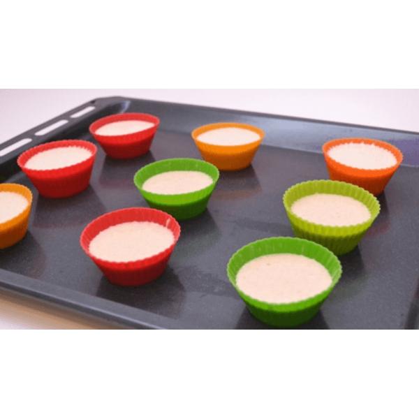 خليط الوافل والمافن بالبروتين نكهة الفانيلا شيك لاب