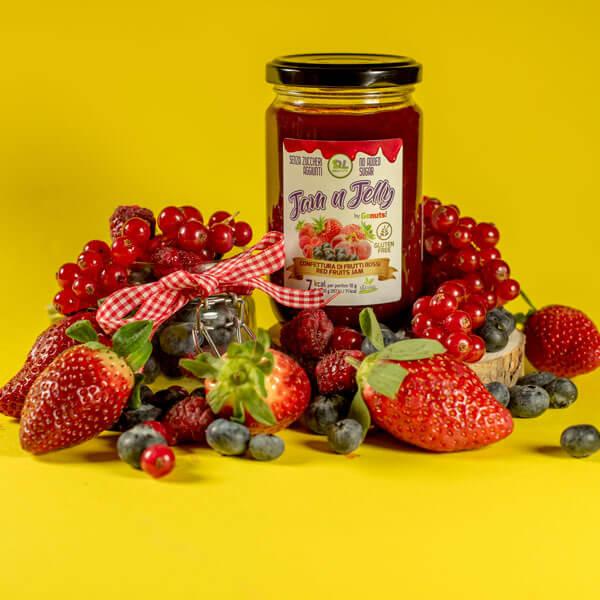 مربى الفواكه الحمراء- ديلي لايف