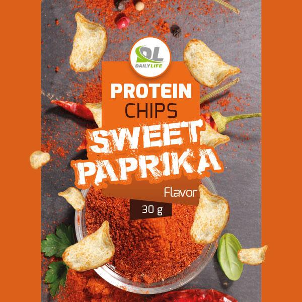 شيبس بالبابريكا الحلوة عالي البروتين- ديلي لايف