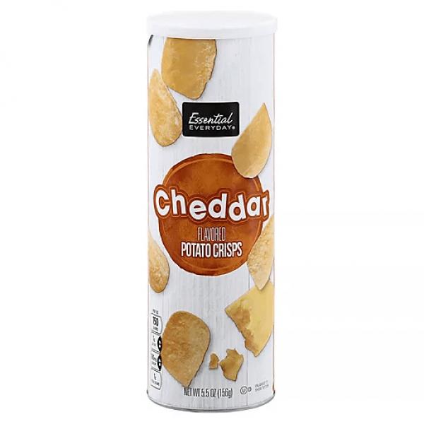 شيبس بجبنة الشيدر- اسينشال ايفري دي