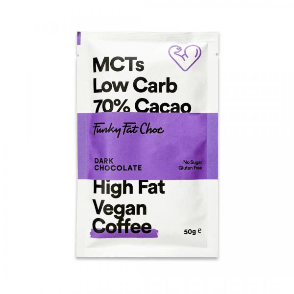 لوح دارك شوكلت 70% بالقهوة - Funky Fat Food