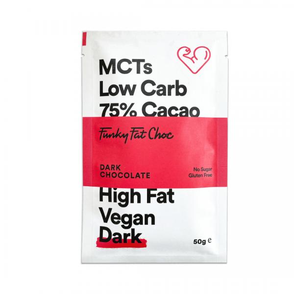 لوح دارك شوكلت 75% - Funky Fat Food