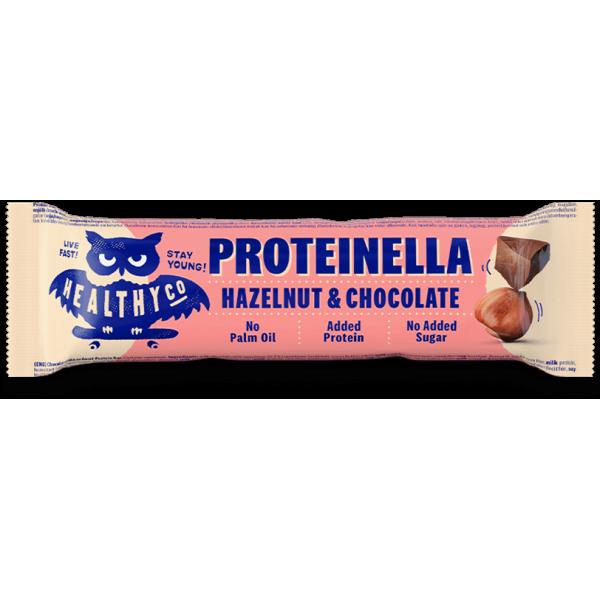 هيلثي كو بروتين بار شوكولاته بالبندق