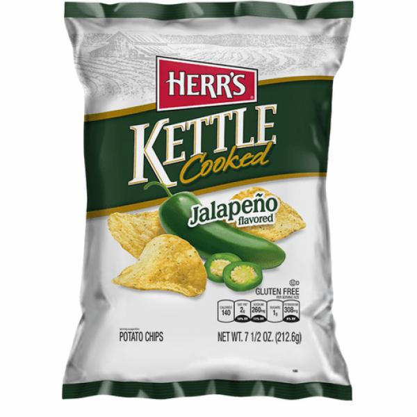 هيرز شيبس نكهة الهلابينو