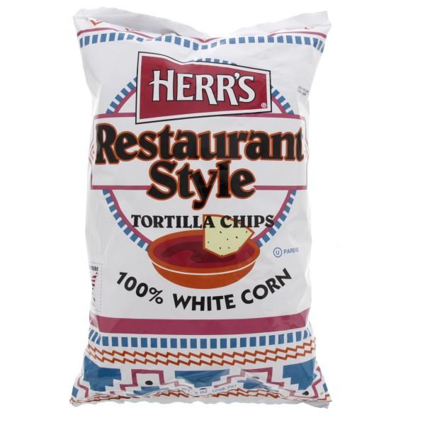 هيرز رقائق التورتيلا بأسلوب المطاعم