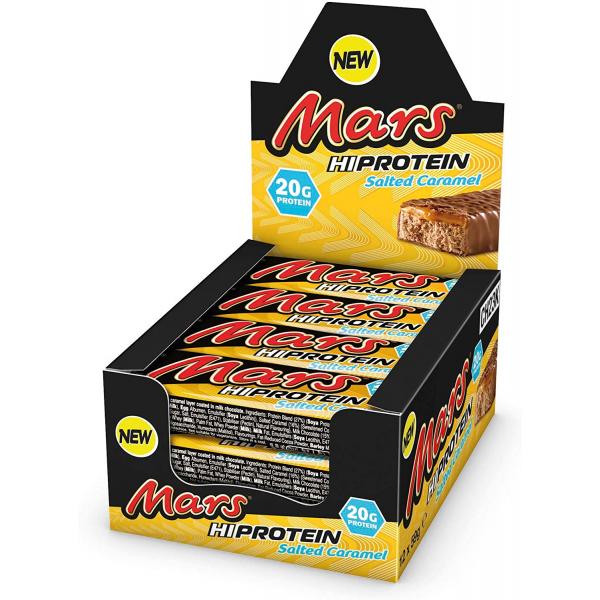 مارس بروتين بار بالكراميل المملح