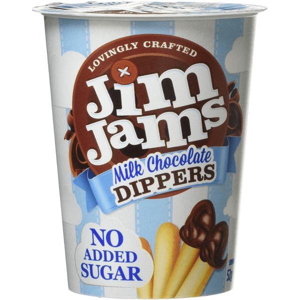 أصابع شوكولاته بالحليب جيم جامز