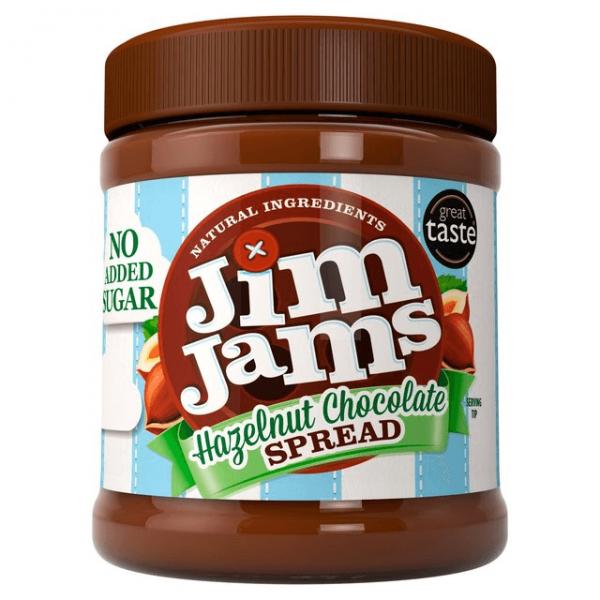 زبدة الشوكولاته بالبندق - جيم جامز
