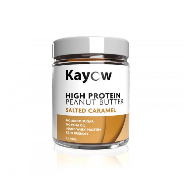 زبدة الفول السوداني عالي البروتين سولتد كراميل كايو
