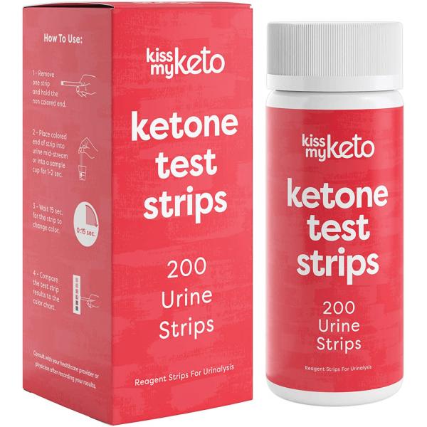 شريط لفحص مستوى الكيتو - Kiss my keo