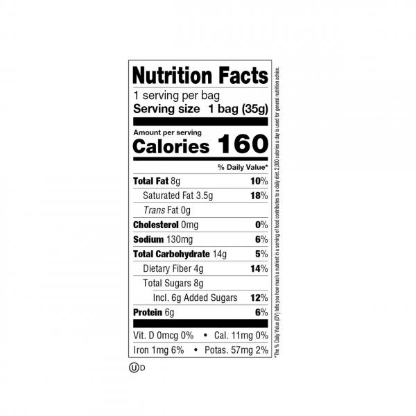 ميني كوكيز بروتين بالشوكولاته ليني اند لاري
