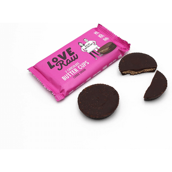 كوب شوكولاته بعجينة الكوكيز لوف رو