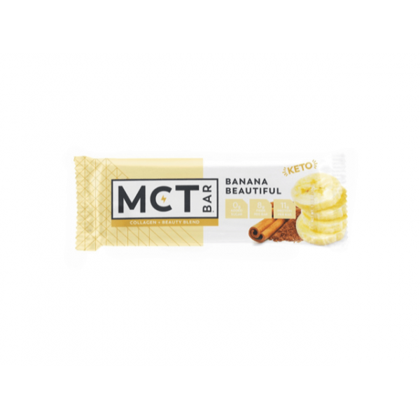كيتو بار بالموز والقرفة - MCT