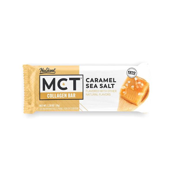 كيتو بار الكراميل المملح- MCT