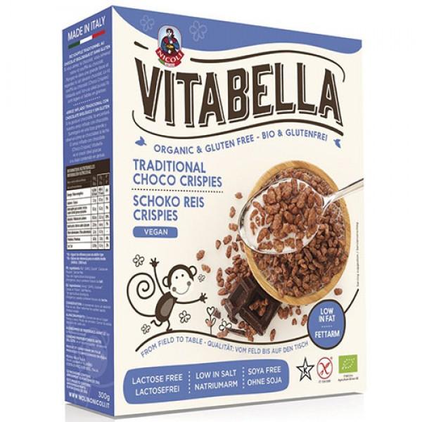 كورن فليكس الأرز المقرمشة بالشوكولاتة فيتابيلا