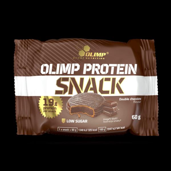 بروتين سناك اوليمب نكهة الدبل شوكلت