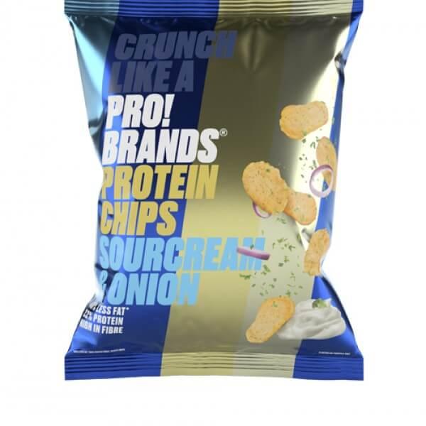 شيبس بروتين نكهة السوركريم والبصل برو براندز